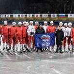 Шестой год активисты Партии принимают участие в развитии хоккея с мячом