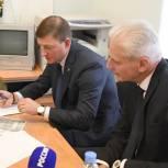 В Псковской области «Единая Россия» помогла коррекционной школе приобрести новое оборудование