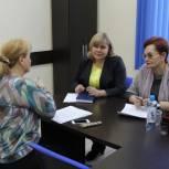 Оксана Козловская провела прием граждан