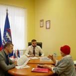 Артем Туров в День рождения «Единой России» провел прием граждан