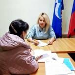 Секретарь Приволжского местного отделения ЕР провела несколько приемов граждан в рамках Единой партийной недели приемов
