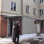 Первомайский район: Андрей Долов выехал по обращению жителей дома № 50 по улице Богданова