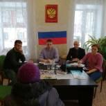 Жители села Дунилово Шуйского района обратились к партийцам с вопросами медицинского обеспечения