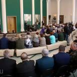 Представители власти встретились с ветеранским активом