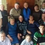 Кадомские единороссы поздравили юбиляров с 90-летием