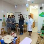 Ольга Швецова посетила специализированный дом ребенка