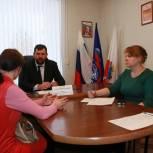 Погорельцам из Красноармейска окажут помощь в местной приемной «Единой России»