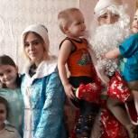 Ряжские партийцы приняли участие в новогодних мероприятиях