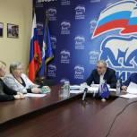 Сергей Неверов провел прием граждан в Смоленске