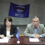 Состоялось заседание фракции «Единая Россия» в Совете депутатов городского округа Бронницы