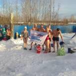 Партпроект «Моржи Тюмени» пришел к детсадовцам и школьникам