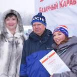 Координаторы партпроектов «Единой России» стали победителями лыжных гонок