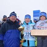 Иван Кузьмин вручил Кубки «Единой России» участникам лыжных гонок