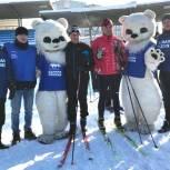 Южноуральские единороссы поддержали традиционный забег «Лыжня России»