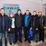 Партийцы Коми поддерживают родную хоккейную команду в каждой домашней игре