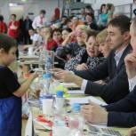 Партийцы Сыктывкара поддержали семейный спортивный конкурс