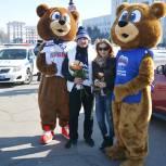 «Единая Россия» провела для жительниц Хабаровского края праздничную акцию