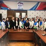 Химкинский партиец организовал экскурсию в Государственную Думу для школьников