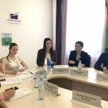 Ольга Швецова встретилась с молодежным активом Тобольска и Тобольского района