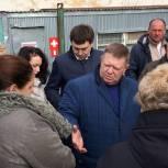 Николай Панков строителям дома в Елшанке: Судить о вашей работе люди будут по результату