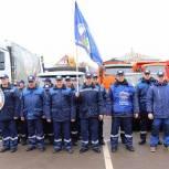 В Павловском Посаде месячник по благоустройству начался парадом коммунальной техники