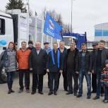 Воскресенские партийцы организовали парад коммунальной техники