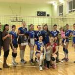 Женская волейбольная команда «Старт-Единая Россия» стала чемпионом Сыктывкара