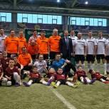 Футбольный матч между командами власти и общественников прошел в Барнауле