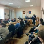 Николай Панков встретился с секретарями первичных отделений «Единой России» в Красноармейске