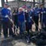 Ванинские партийцы провели субботник в рамках Всероссийской акции «Чистая страна»