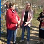 Светлана Ворнакова обсудила с жителями поселка Строитель вопросы благоустройства