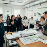 Будущие инженеры побывали в Тюменском издательском доме