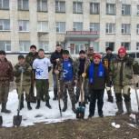 Единороссы дали старт субботникам на Удоре