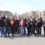 Команда Регионального исполкома Партии встретила Первомай