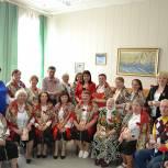 Лидер путятинских единороссов поздравила ветеранов и тружеников тыла