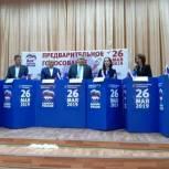 В Фокинском районе города Брянска прошли дебаты участников предварительного голосования