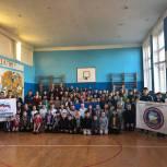 Активисты партпроекта «Защитник Отечества» провели встречу со школьниками
