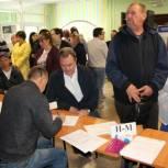 Валерий Лидин принял участие в предварительном голосовании «Единой России»