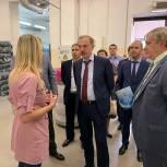 Люберецкие партийцы посетили фабрику «Пехорский текстиль»