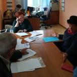 Оксана Козловская провела личный прием в Асине