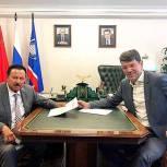 Денис Кравченко в рамках региональной недели встретился с секретарем местного Королевского отделения«Единая Россия»