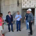 Владимир Шапкин посетил объекты, финансируемые в рамках национальных проектов в Щелково