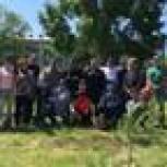 «Единая Россия» провела акцию «Зеленый двор Амурска»