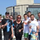 «Городская зарядка» на Юбилейной площади собрала более 300 участников