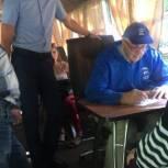 Борис Панин принял участие в выездном приеме жителей Терновки