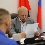 Вячеслав Фетисов посетил с рабочим визитом Ленинский район