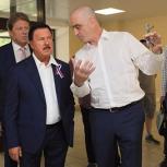 Секретарь королёвской «Единой России» проверил ход ремонта Королёвской городской больницы