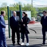 В Мурманске партийцы выявили нарушение сроков работ при строительстве межшкольного стадиона