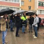 В Рязани продолжается благоустройство дворовых территорий