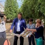 Сергей Керселян и депутаты-единороссы проконтролировали ход ремонта детского сада